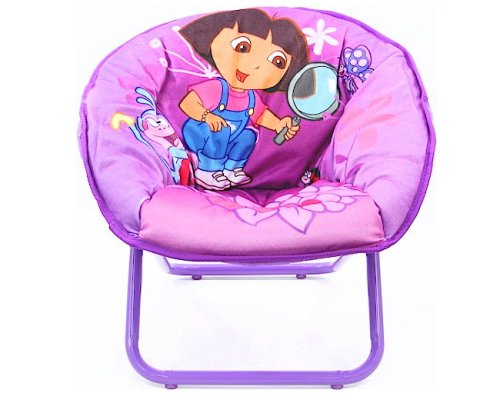 amazon com dora the explorer mini saucer chair kitchen dining rh amazon com dora characters monkey dora charm bracelet