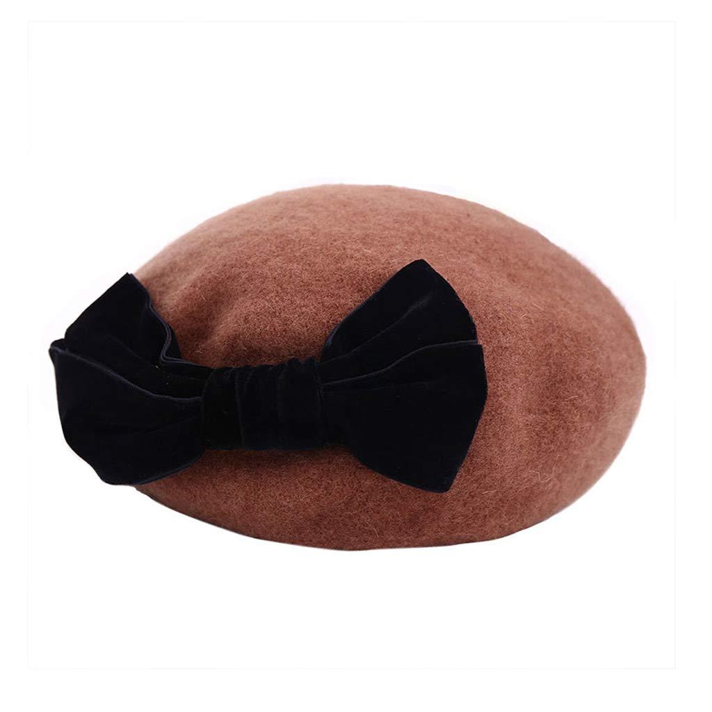 Boinas Sombrero De Piel Sombrero Otoño E Invierno Gorro De Calabaza Cálido  Moda Compras Sombrero De Gorro Marrón Beisbol  Amazon.es  Hogar 5f07a53e445
