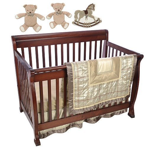 F.A.O Schwarz 7 Piece Manhattan Crib Set by F.A.O. Schwarz