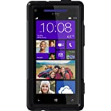 OtterBox Commuter Series Case for HTC Windows Phone 8X - Retail Packaging - Black