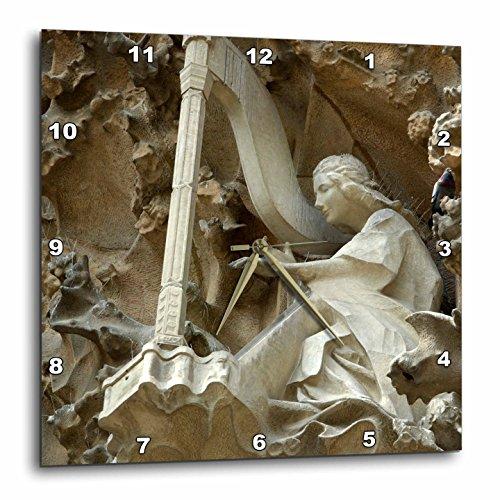 3D Rose dpp_82564_2 3dRose Spain, Barcelona, La Sagrada Familia-EU27 CMI0092-Cindy Miller Hopkins-Wall Clock 13-inch by 3dRose