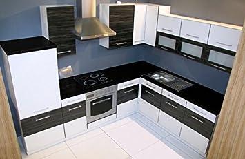Winkelküche Jessy 270 x 220cm Küchenzeile / Küchenblock variabel ...