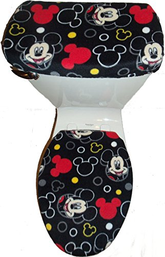 Fleece Toilet Seat Cover Set product image
