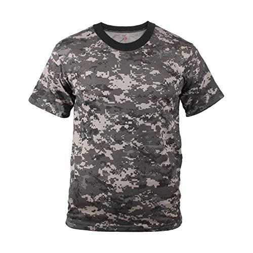 Rothco Camo T-Shirts, Subdued Urban Digital Camo, Small