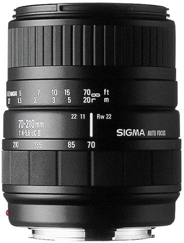 Sigma 70-210mm F4-5.6 UC-II Lens for Nikon-AF Camera
