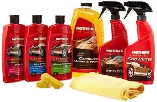 Mothers Classic Paint Care Bundle (Mothers California Gold Liquid)