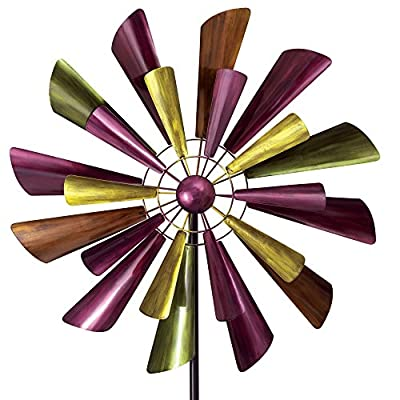 Bits and Pieces - Autumn Palette Wind Spinner - 28