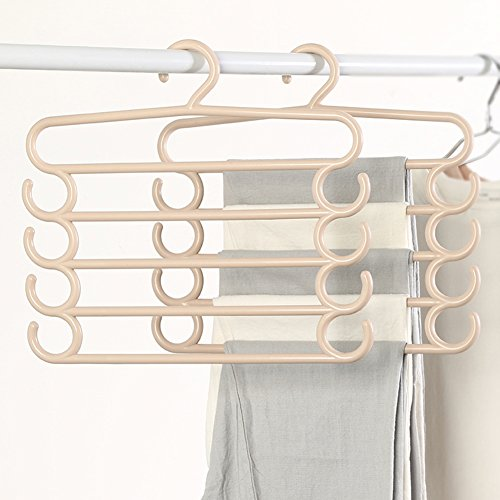 LIANGJUN Pants Scarf Hangers Multifunctional Drying Rack Pac