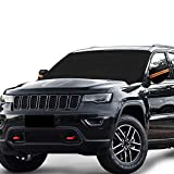Windshield Snow Ice Cover Magnetic Large Car Covers - Fit Any Car, SUV Truck Mirror Snow Covers 82' × 62'