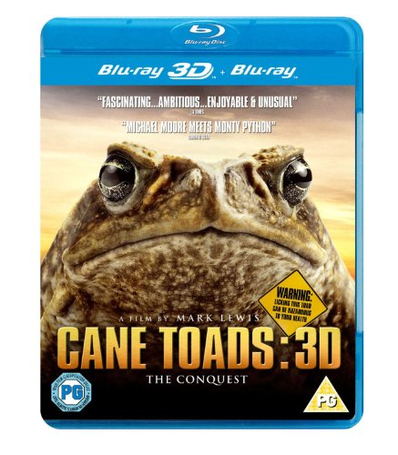Cane Toads: The Conquest 3D ( Cane Toads: The Conquest 3D ) [ Blu-Ray, Reg.A/B/C Import - United Kingdom ] (Cane Toads The Conquest)