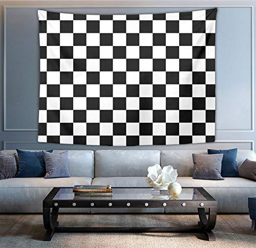 NiYoung Bohemian Mandala Hippie Hippy Decor Tapestry, Wall Hanging, Home Decor Art - Checkerboard Wall Tapestry, Living Room, Bedroom, Dorm Room Tapestry, Meditation]()