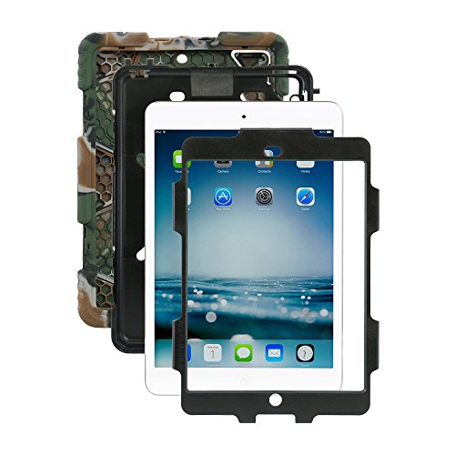 ACEGUARDER Shockproof Waterproof Military Duty Army Black