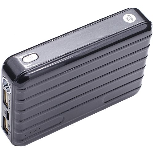USTOP 12000mAh Power Bank, External Battery Charger for cell phones, tablets, cameras and portable devices.