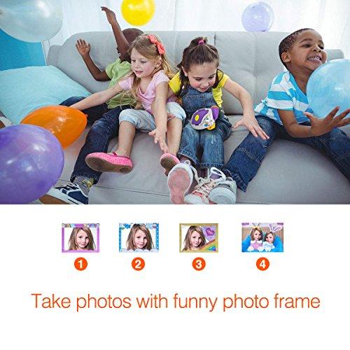 Digital Video Camera for Kids, AMKOV Kids Camcorder, 1.44 Inch Full-Color TFT Display Kids Camera by AMKOV (Image #6)