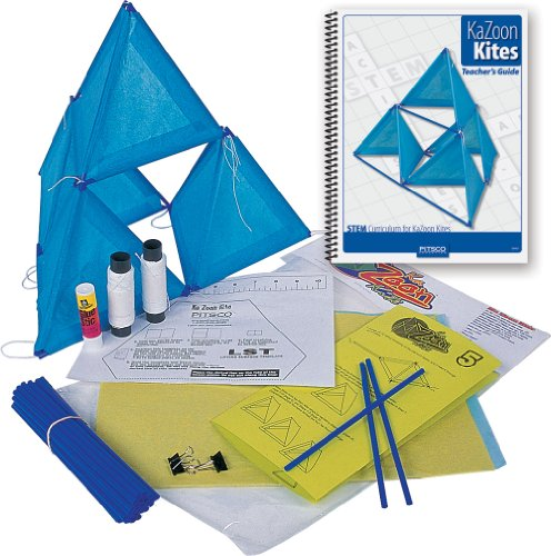 Pitsco KaZoon Kite Kit with Teacher's Guide (Individual Pack) ()