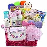 Baby Luxuries Deluxe Baby Gift Basket- Girl