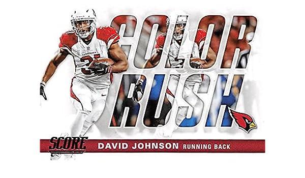 David Johnson football card (Arizona Cardinals) 2016 Score