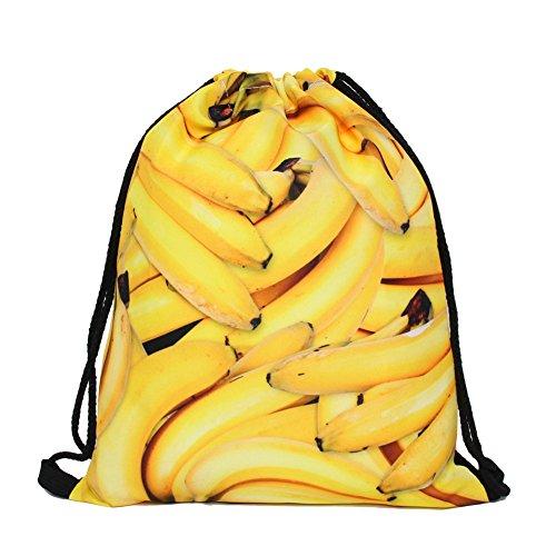 Susi&Rita Gym Drawstring Bags Sport Yoga School Backpack