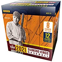 $160 » 2021 Panini Diamond Kings Baseball HOBBY box (12 pks/bx)
