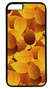 Autumn leaves Thanksgiving Halloween Masterpiece Limited Design PC Black Case for iPhone 6 Plus by Cases & Mousepads