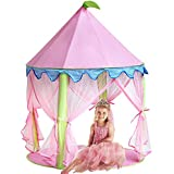 Princess Castle Tent,Sonyabecca Tent for Girls Pop up Tent Pink