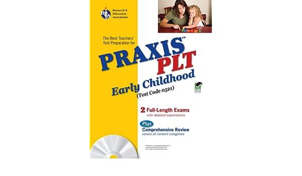 Amazoncom Praxis Ii Plt Early Childhood The Best Teachers Test