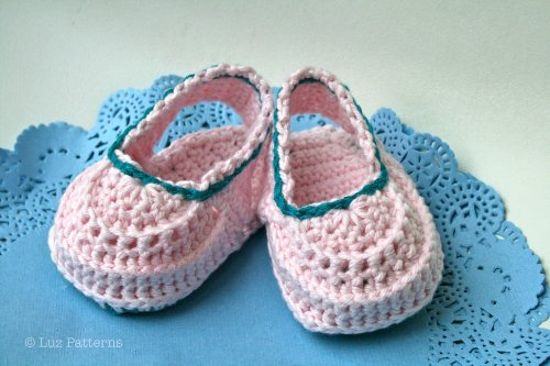 Crochet book baby boots pattern, crochet baby clogs pattern, crochet ...