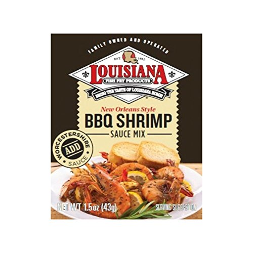 Louisiana Fish Fry BBQ Shrimp Sauce Mix, 1.5-Ounce (Pack of - New Orleans French Bread