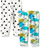 Rosie Pope Baby 2 Pack Pants (More Options Available), White/Blue Multi, 3-6M