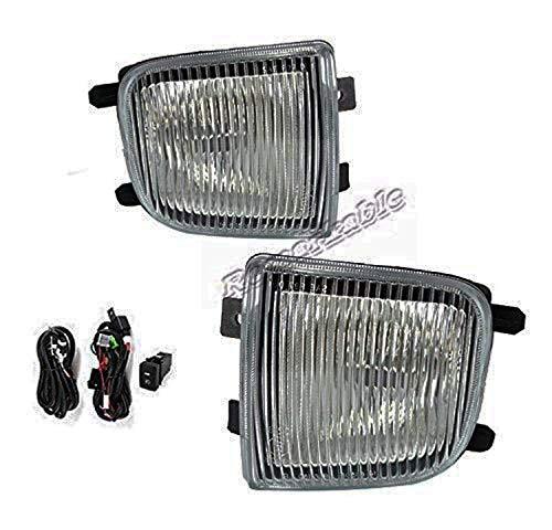 - Remarkable Power FL7063 Fit For 1999 2000 2001 2002 2003 2004 Nissan Pathfinder Pair Fog Lights Clear Lens Bumper Lamps Kit