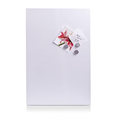 Zeller 11123 Magnettafel, Metall, 40 x 60 cm, weiß