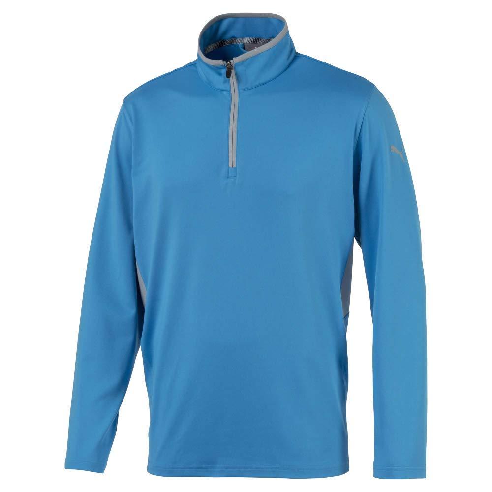 Puma Golf Men's 2019 Rotation 1/4 Zip, Bleu Azure, 3X-Large