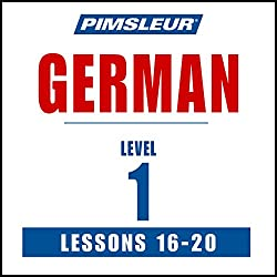 German Level 1 Lessons 16-20