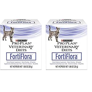 Purina 840235149217 Fortiflora Nutritional Supplement for Cats (2 Pack) 25