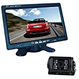 Cheap Buyee 7″ LCD Monitor Bus Lorry Car Rearview Waterproof Reversing Camera+10m video cable