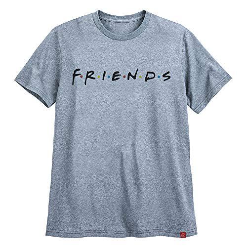 Camiseta Friends Série Moda Tumblr Camisa Branca Ultra Skull GG