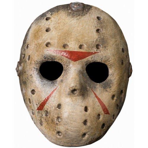 Deluxe Jason Hockey Mask Costume Accessory (Hockey Mask Jason)