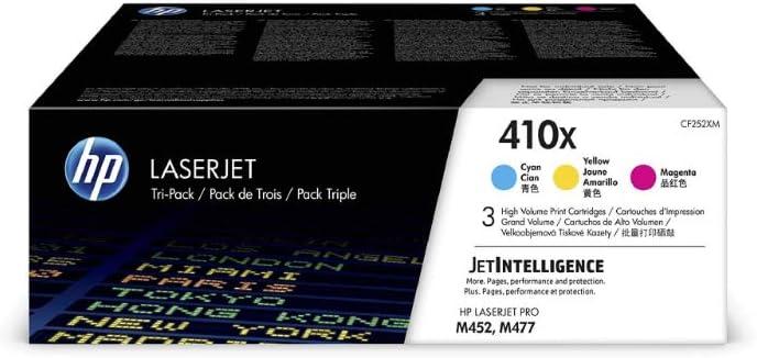 Hp 410x Cf252xm Multipack Original Toner Blau Magenta Gelb Mit Hoher Reichweite Für Hp Color Laserjet Pro M452 Hp Color Laserjet Pro M477 Bürobedarf Schreibwaren