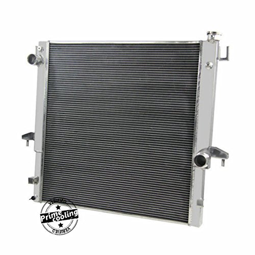 Primecooling 55MM 3 Row Core Aluminum Radiator for 2003-09 Dodge Ram 2500 3500 (Fits: 5.9L 6.7L Diesel OHV Cummins)