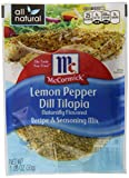 McCormick Dill Tilapia mix, Lemon Pepper, 1.06 Ounce (Pack of 6)