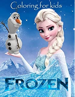 Amazoncom Disney Frozen Coloring Book  Trace and Learn Activity