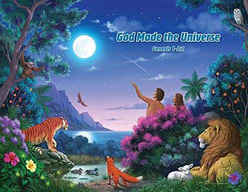 Concordia Publishing House Bible Story Posters - Set of 5 - Miraculous Mission VBS by CPH -