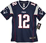 Tom Brady New England Patriots Youth Nike Game Navy Jersey (Youth X-Large 18-20)