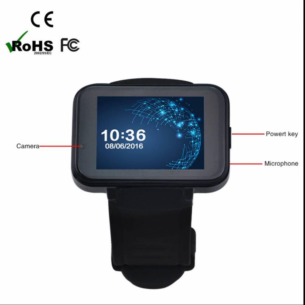 Smartwatch Armband Uhr Schrittzähler Kalorienzähler Anruf SMS SNS SIM Karte für Android Handy