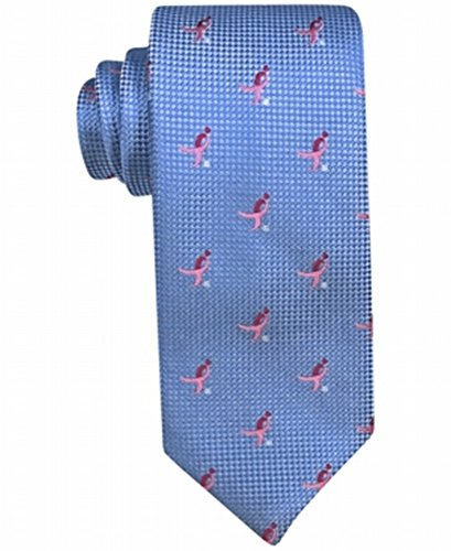 Susan G Kommen Mens Natte Logo Repeat Striped Tie