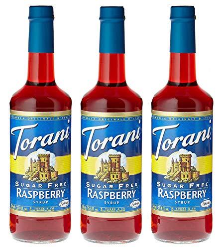 Torani Sugar-Free Syrup, Raspberry, 25.4-Ounce Bottles (Pack of 3) (Best Italian North Beach Sf)