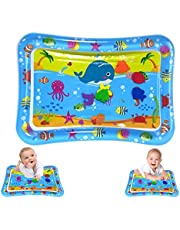 Tummy Time Mat, Inflatable Baby Play Mat for Infants Boys Girls Toys, Baby Gifts for Newborn, for Sensory Development & Stimulation