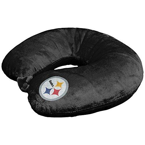 47104b9bfe0 Amazon.com  Bek Brands NFL Pittsburgh Steelers Travel Pillow U Neck Pillow