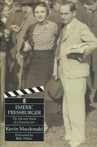 Book cover from Emeric Pressburger: The Life and Death of a Screenwriter by Kevin MacDonald