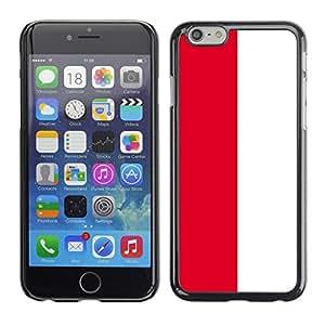 - Flag - - Monedero pared Design Premium cuero del tir¨®n magn¨¦tico delgado del caso de la cubierta pata de ca FOR Apple iPhone 6 6S 4.7 Funny House